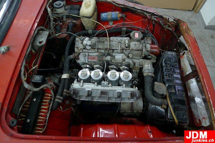 Honda S800 Engine Thats it of