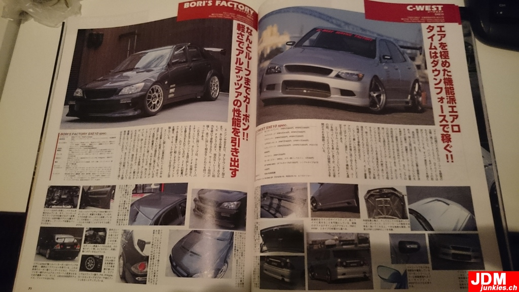 FOR SALE: HyperRev Book No 98 (Altezza / Lexus IS) & Vtec ...